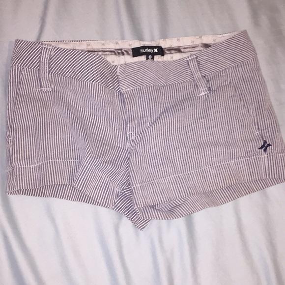 Hurley Pants - Striped hurley shorts